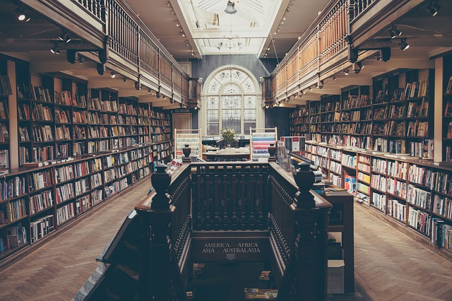 schody knihovny