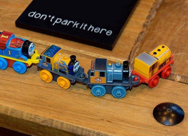 Mašinka Tomáš pro děti