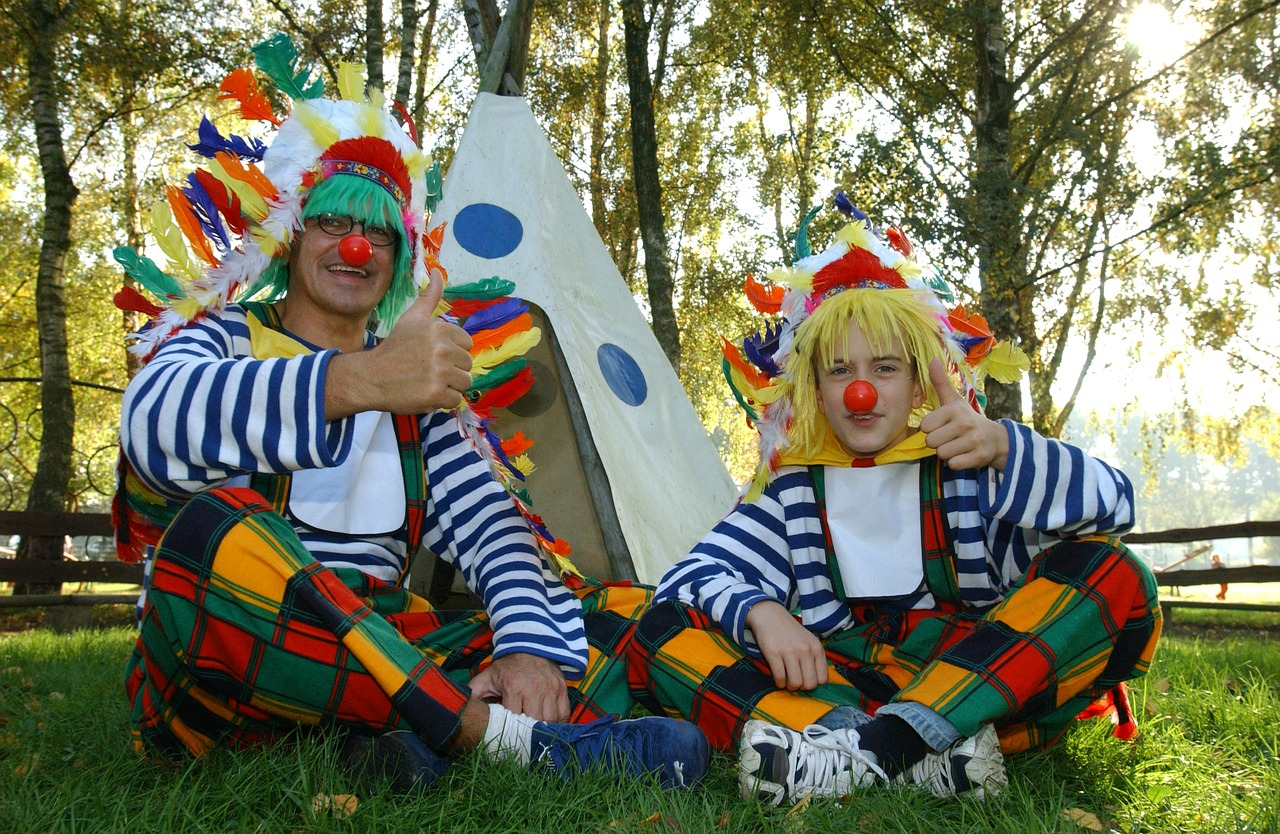 stanoví klauni